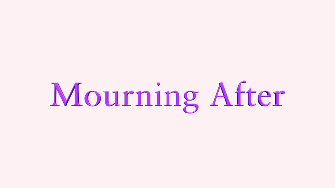 Mourning After -Joyce Middlemiss - Mother