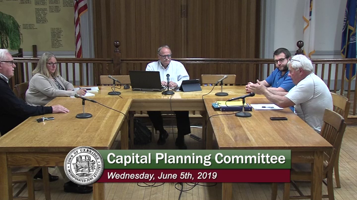 Capital Planning Committee - (06/05/2019)