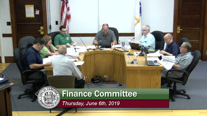 Finance Committee - (06/06/2019)