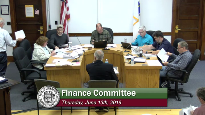 Finance Committee - (06/13/2019)