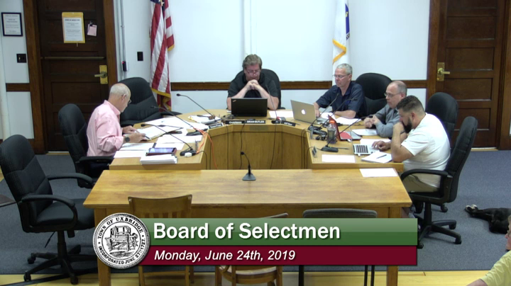 Board of Selectmen - (06/24/2019)