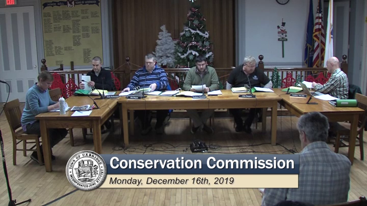 Conservation Commission - (12/16/2019)