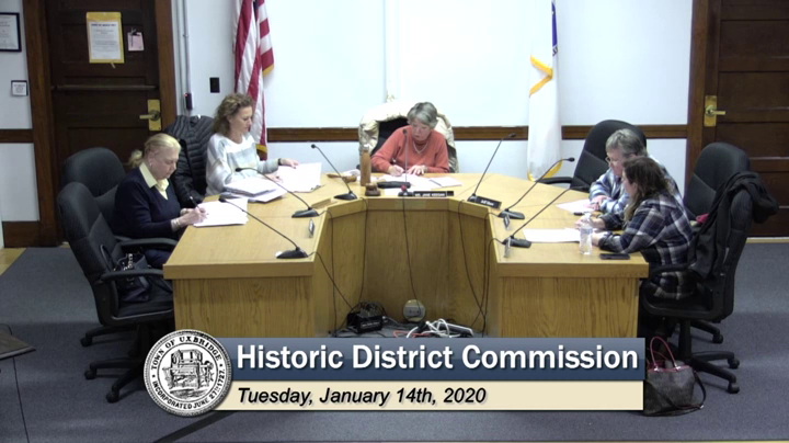 Historic District Commission - (01/14/2020)