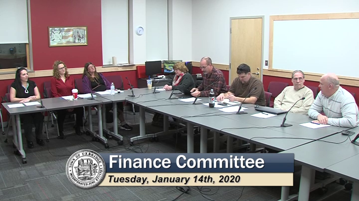 Finance Committee - (01/14/2020)